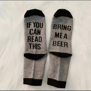 Accessories - 3/$30 Beer socks